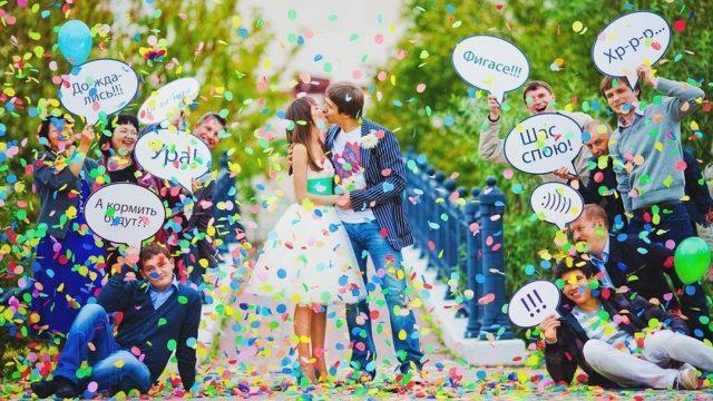 Идеи для свадебного фото
