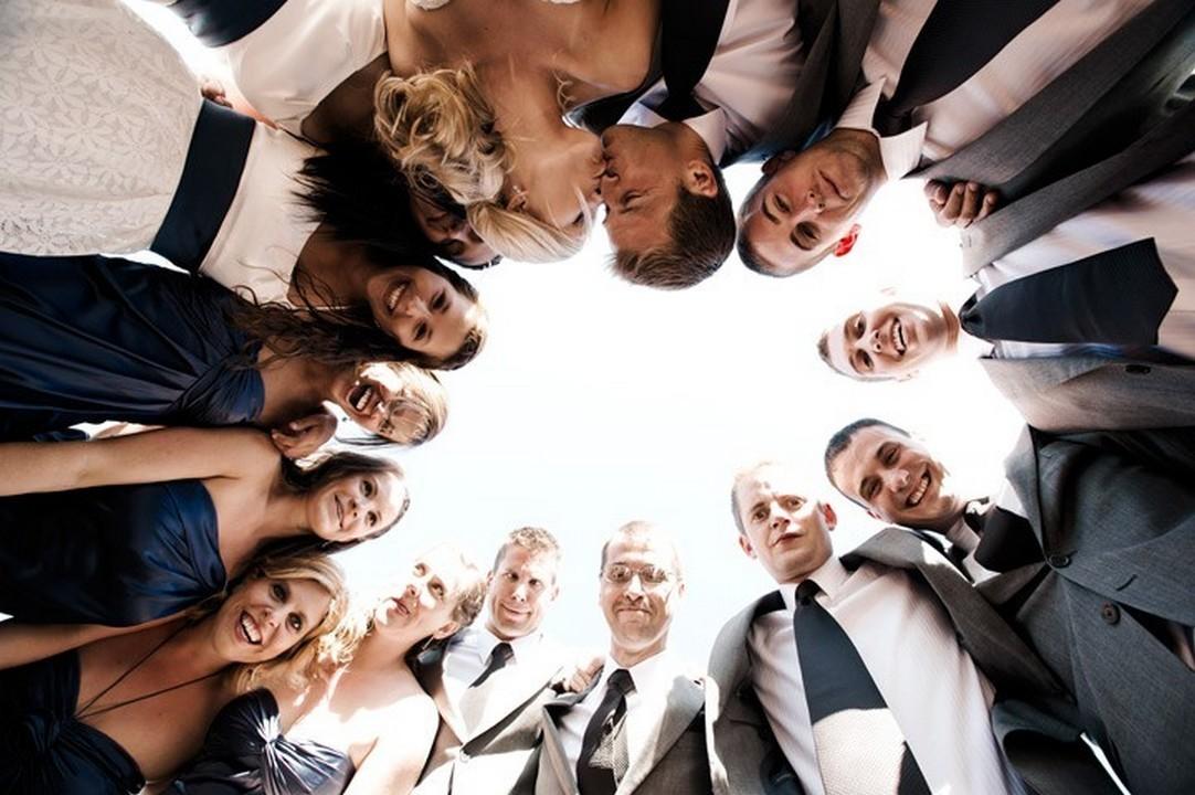 как удачно сфотографировать группу людей