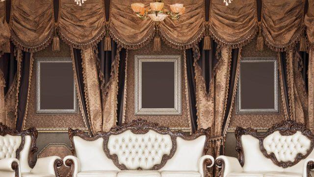 Дизайн штор (новинки, фото)