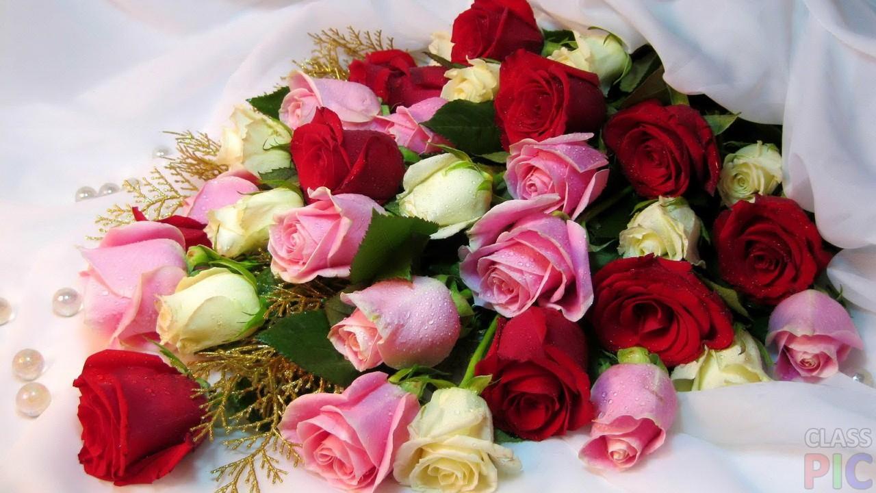 Картинки с красивыми букетами роз с хорошими пожеланиями