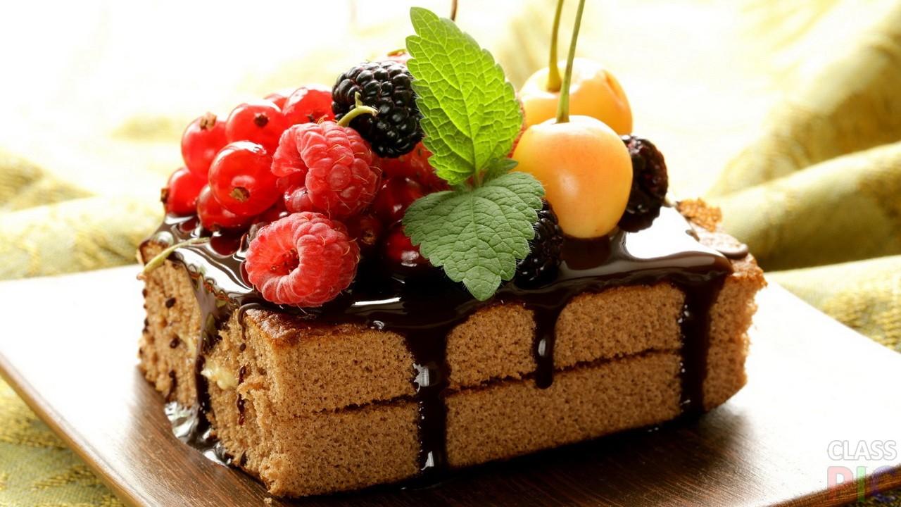 Шоколадный торт (28 фото)