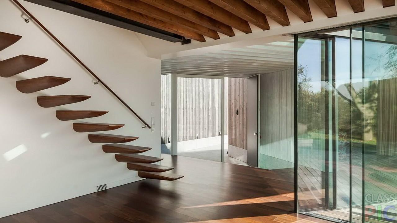 Лестница в частном доме (21 фото)