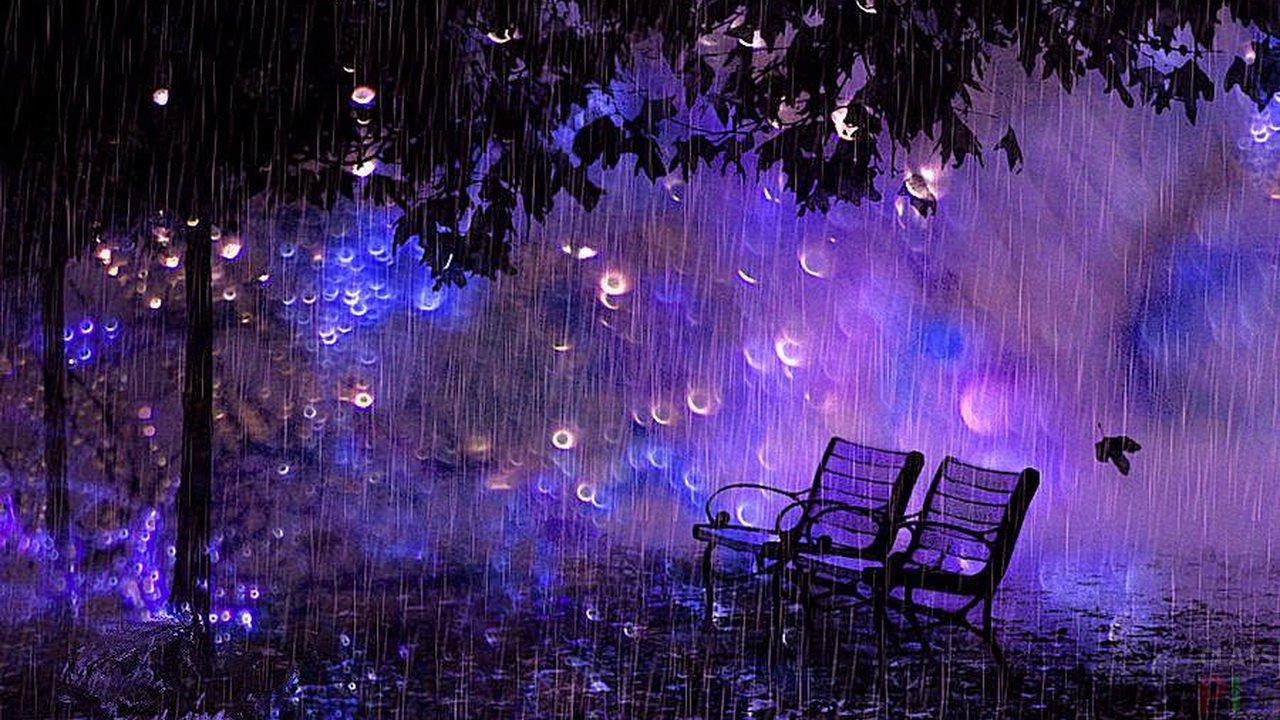 бренча прошлом красивые картинки вечернего дождя еще несколько
