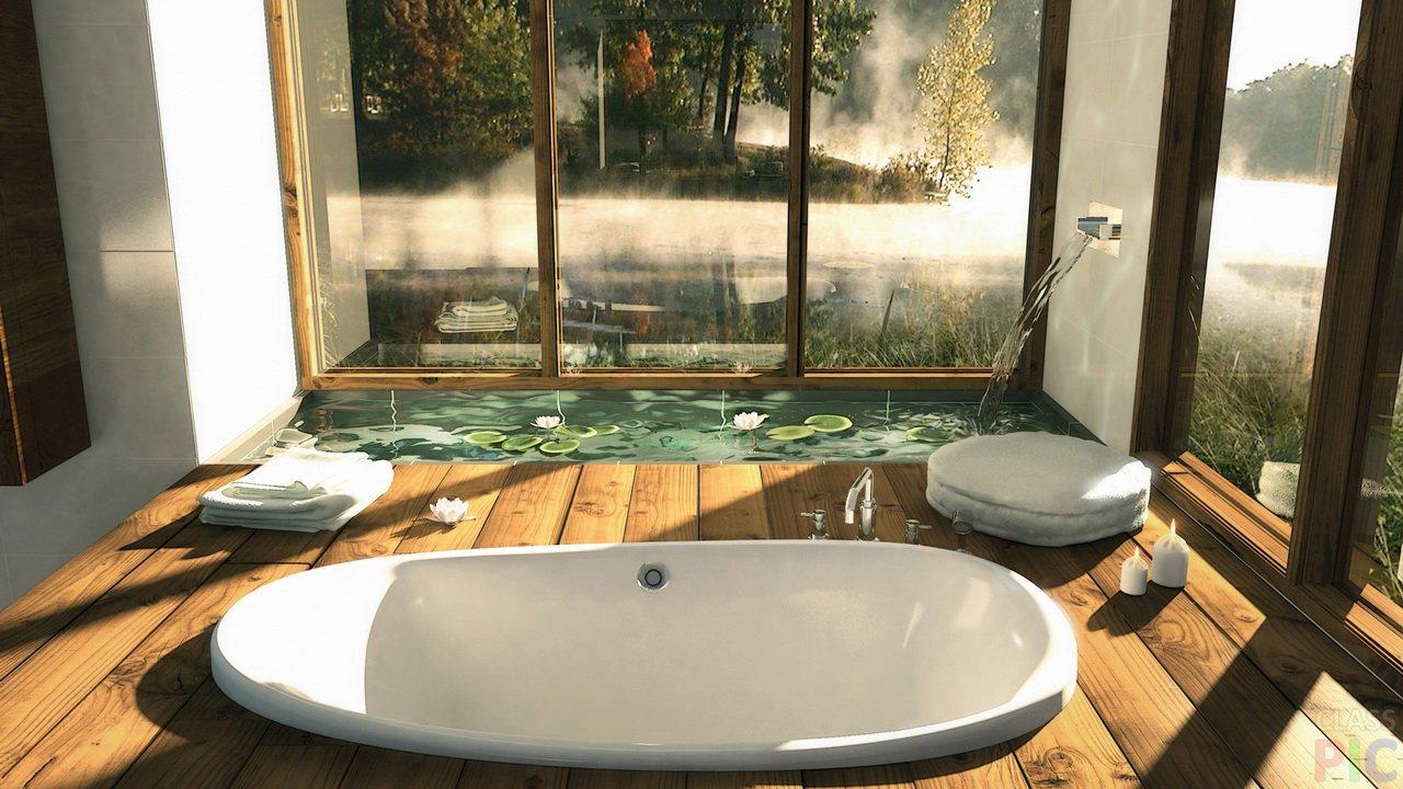 Интерьер ванной (27 фото)