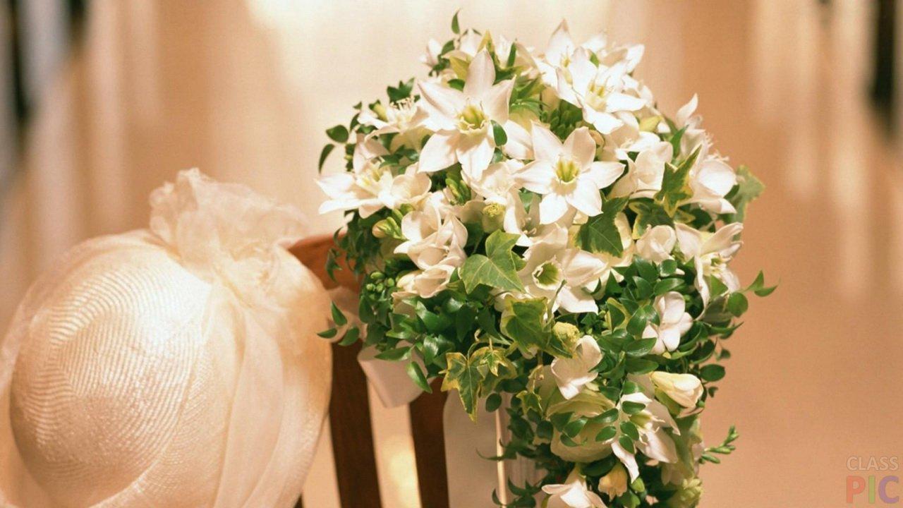 Свадебные букеты (23 фото)
