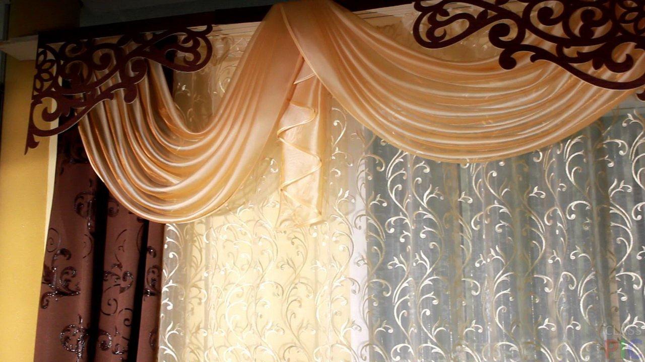 Современные шторы на кухню (22 фото)