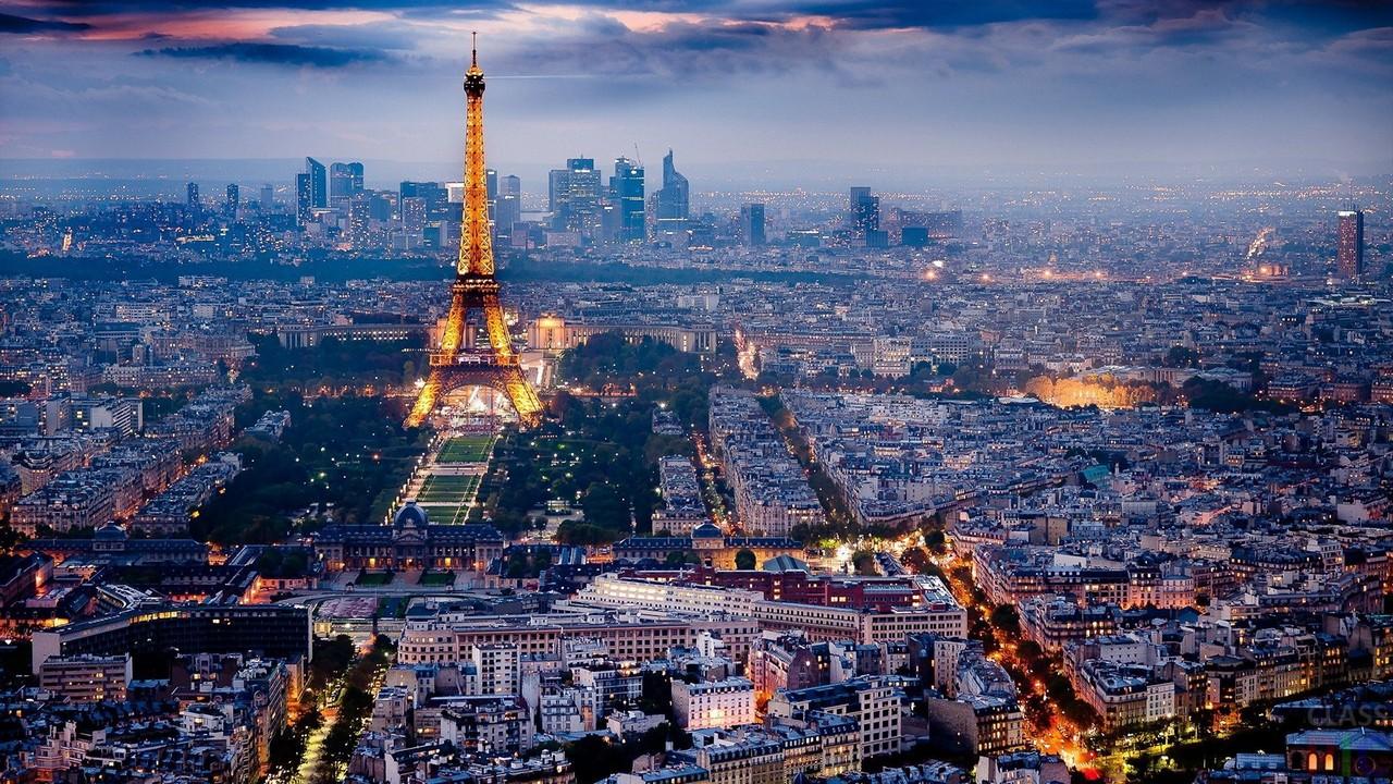 Фото Парижа зимой