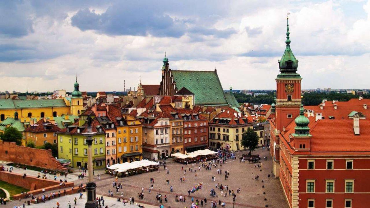 Фото Варшавы