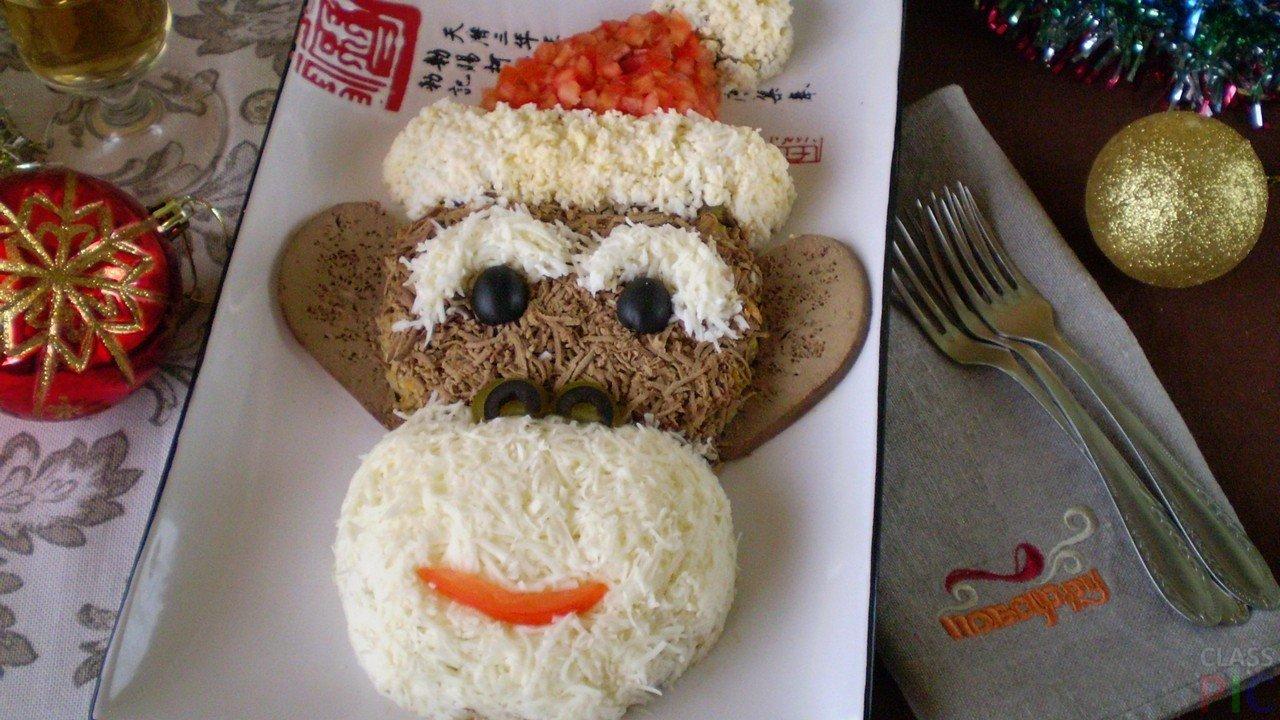 Вкусные праздничные салаты (20 фото)