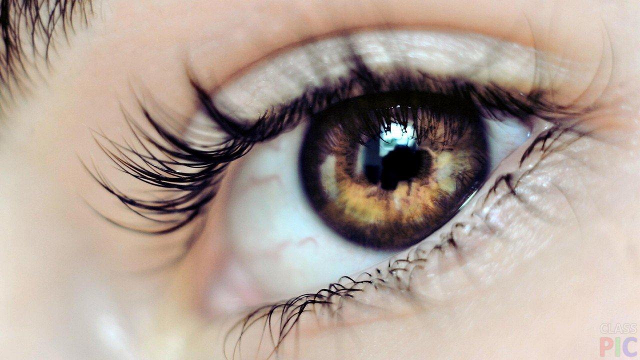 Карие глаза (28 фото)