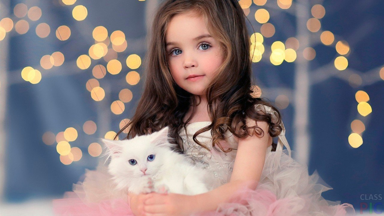 Фото красивых маленьких девочек