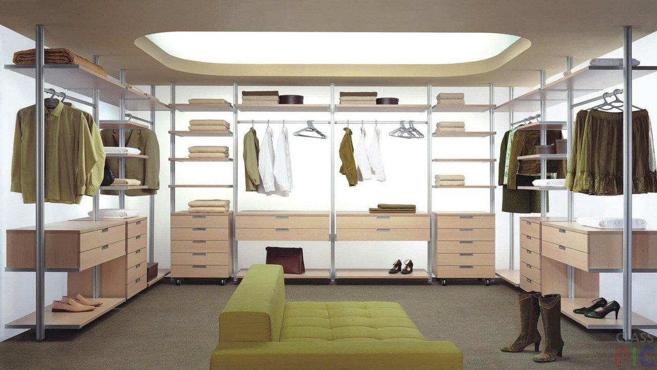 Гардеробная комната (32 фото)