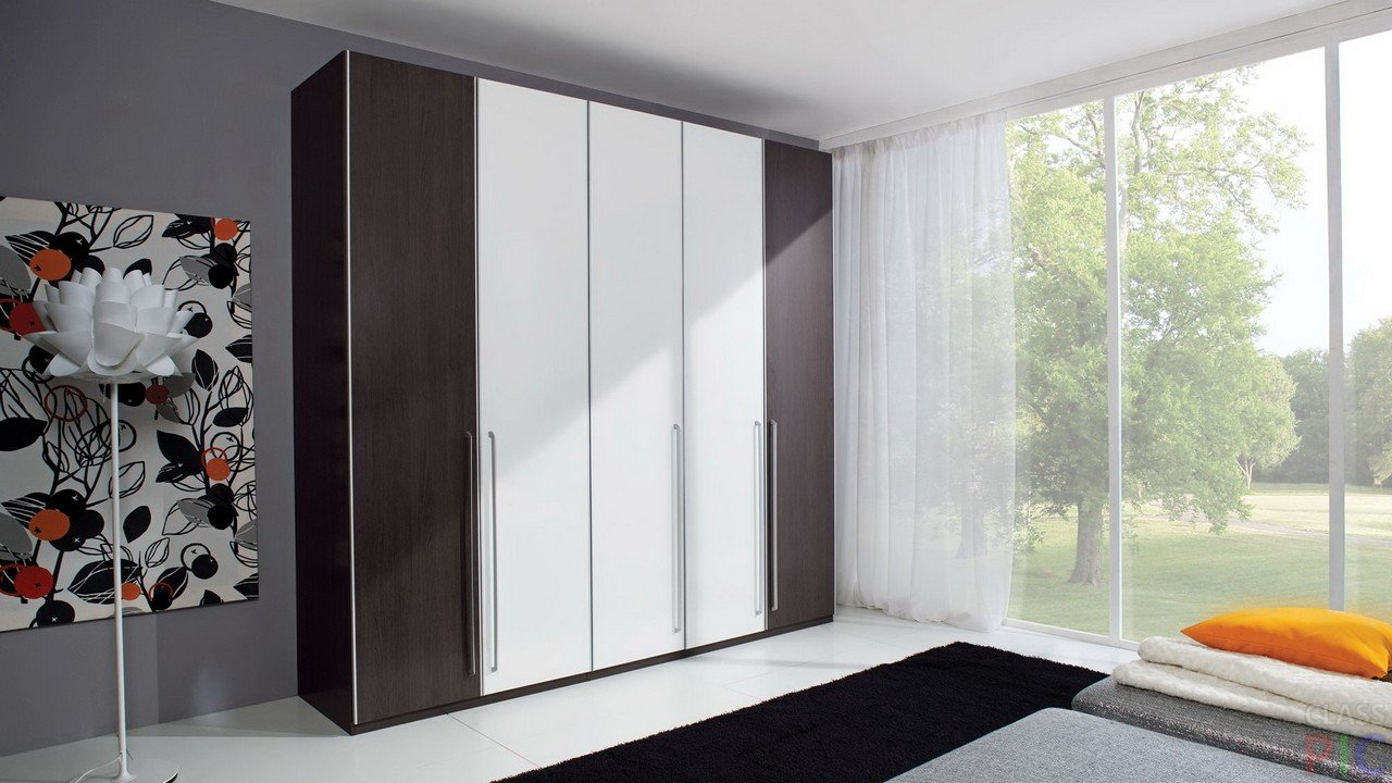 Шкафы в спальню (26 фото)