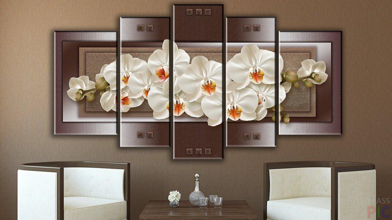 постеры на стену орхидеи жемчуг