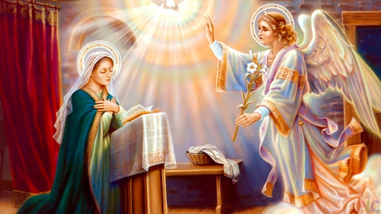 Благовещение Пресвятой Богородицы (22 фото)