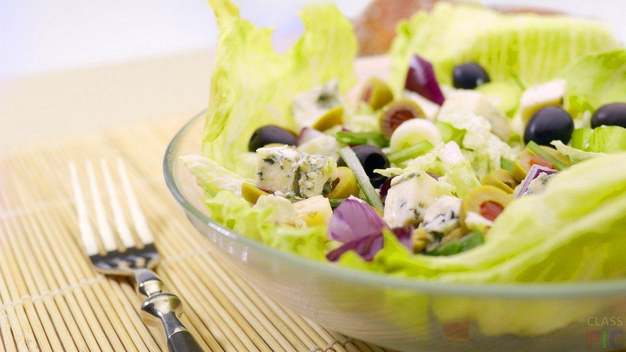 Салат из капусты (27 фото)