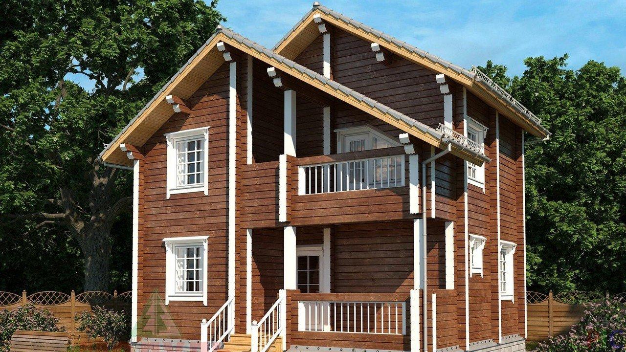 фото фасадов двухэтажных деревянных домов будет две