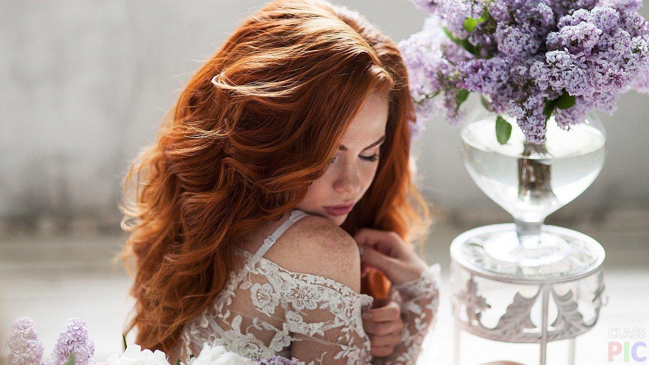 Фото красивых рыжих невест фильм актрисой люси