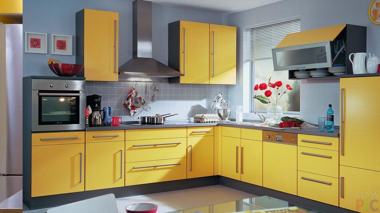Дизайн угловой кухни (25 фото)