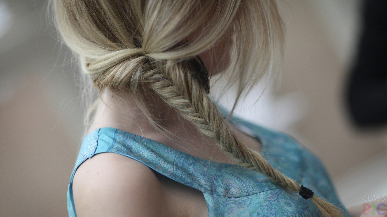 Девушки вид со спины блондинки