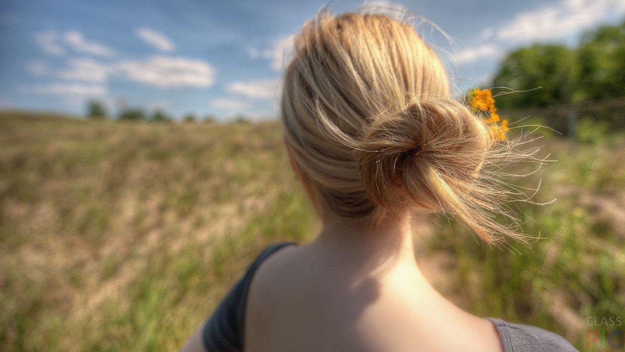 Фотографии с блондинками вид со спины — photo 12