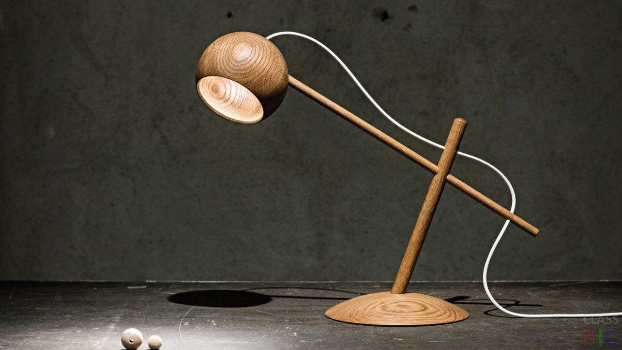 Настольная лампа (50 фото)