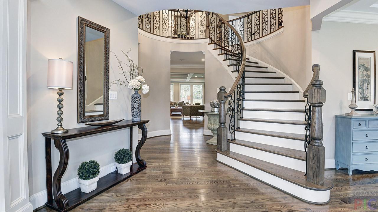 Оформление лестниц в доме в картинках горной