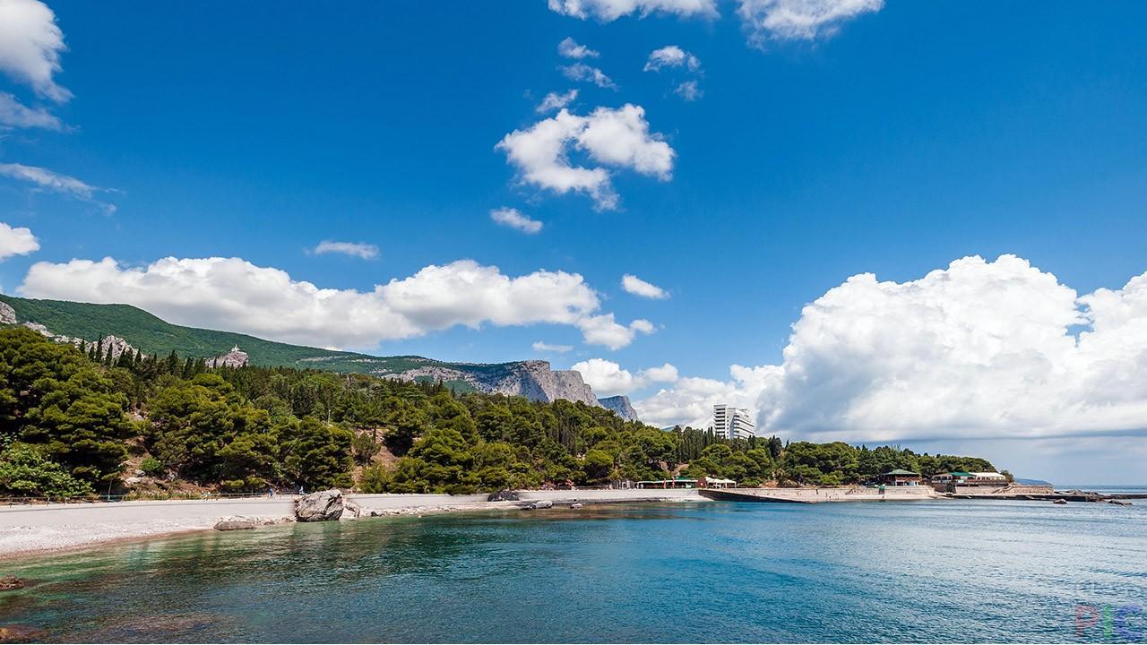 Фото пляжей Крыма