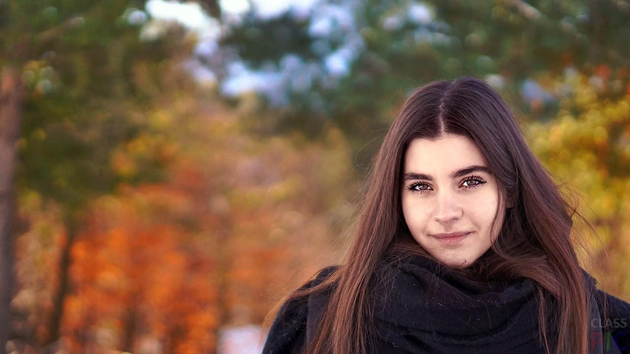 Фото девушек в лесу