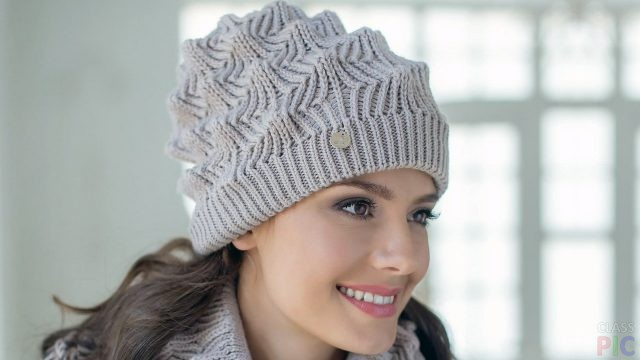 Фото вязаных шапок