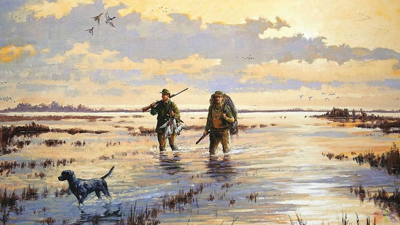 окунала картинки удачной охоты на уток геленджике