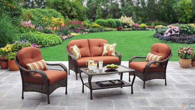 Садовая мебель (61 фото)