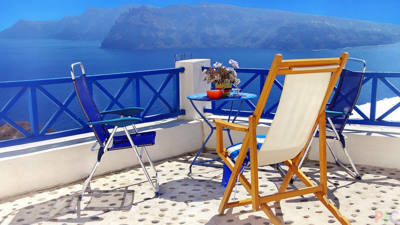 Фото острова Санторини