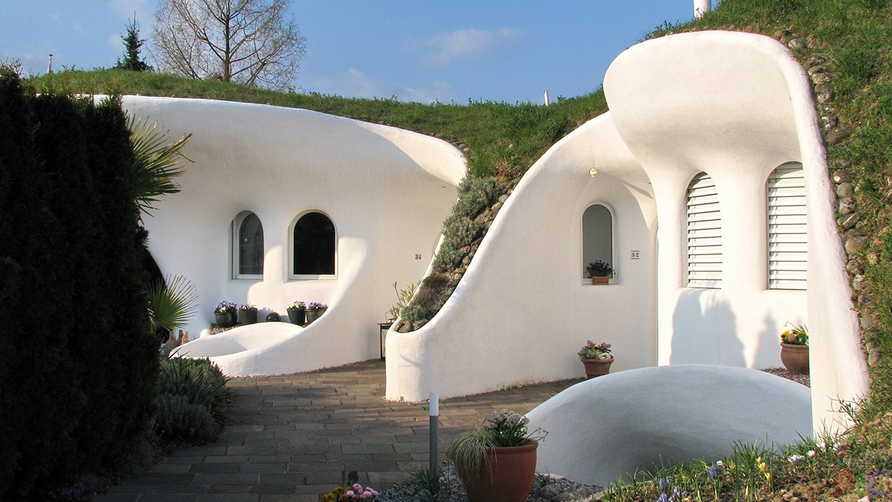 Дешёвые красивые дома (40 фото)