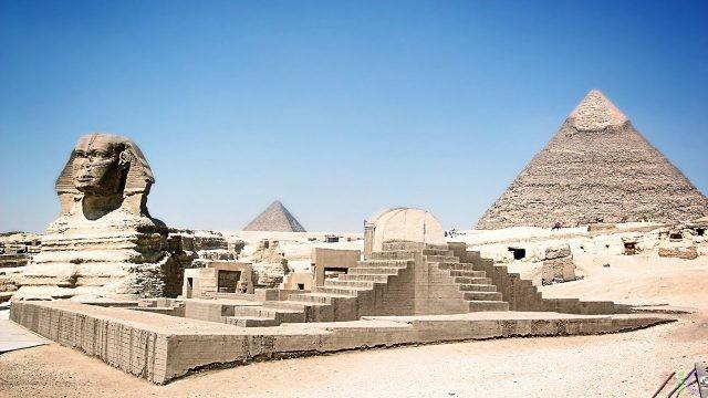 Фото достопримечательностей Египта