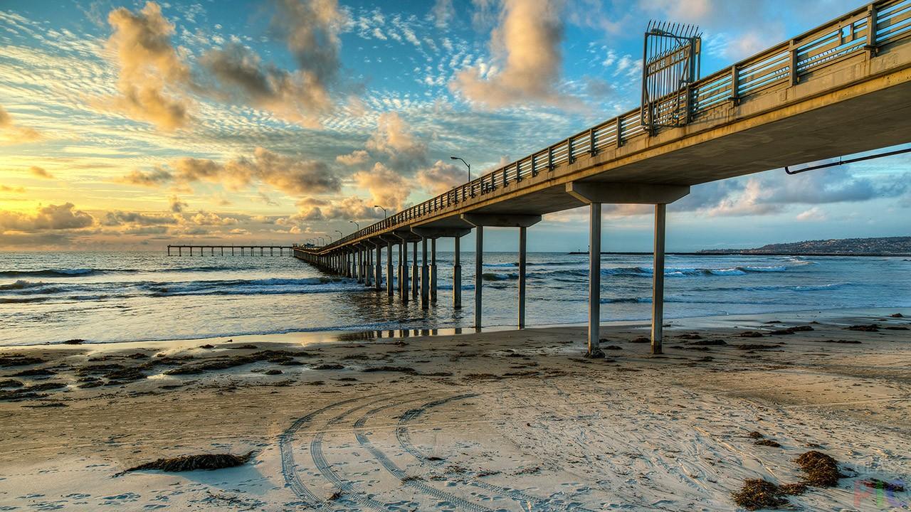 Мост море картинки