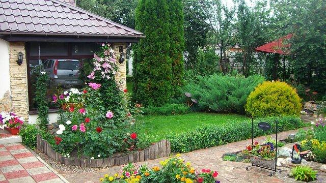Оформление сада (47 фото)