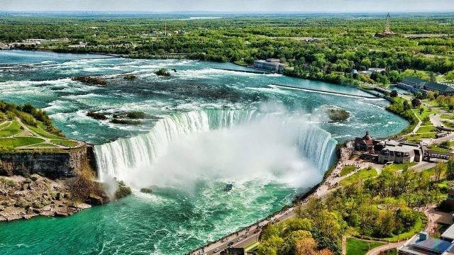 Ниагарский водопад (28 фото)