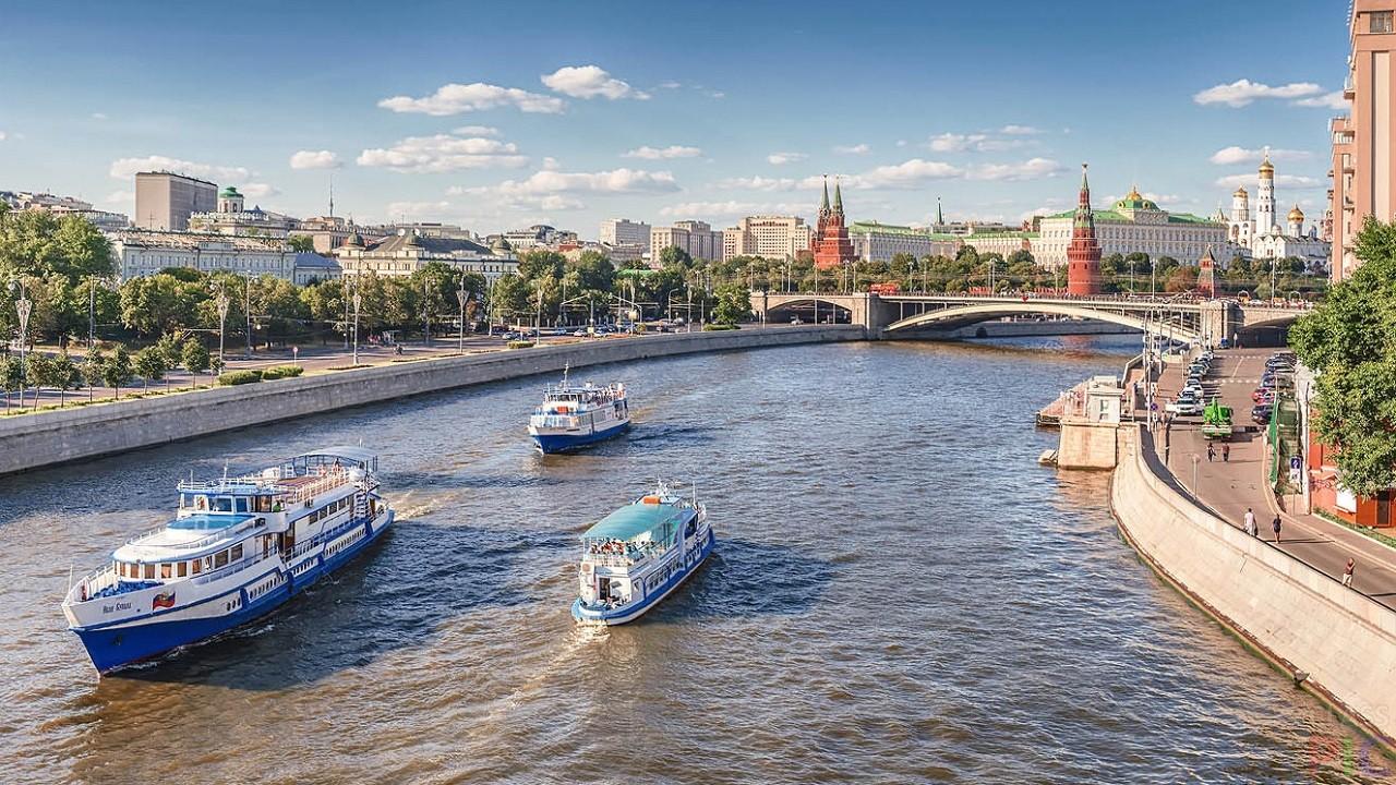 Москва-река (29 фото)