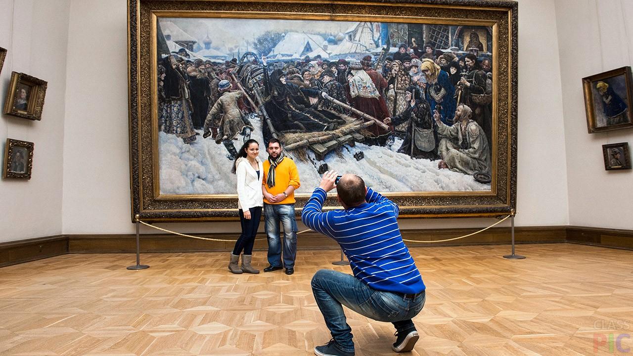 вывод картинок в галерее