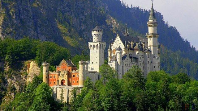 Замок Нойшванштайн (27 фото)