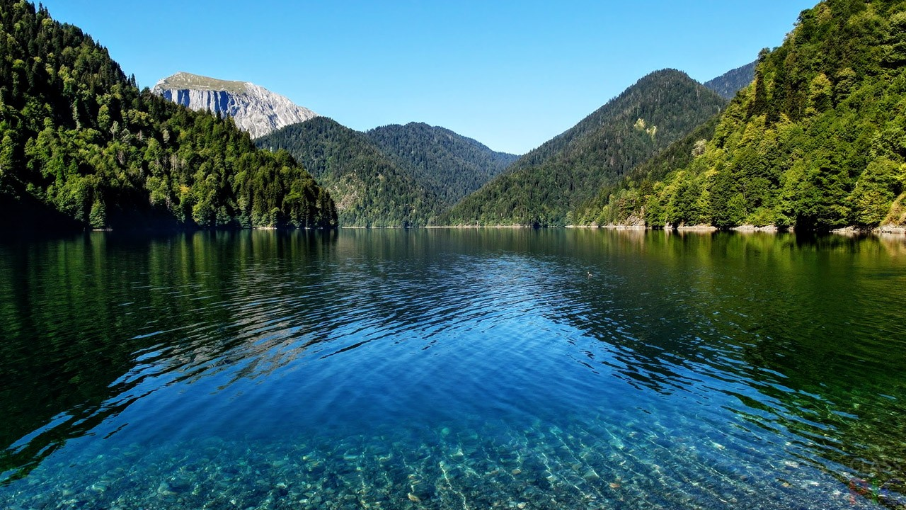 Озеро Рица (38 фото)