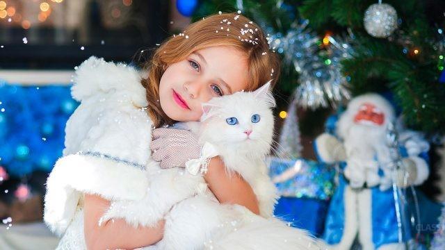 Дети с животными (31 фото)