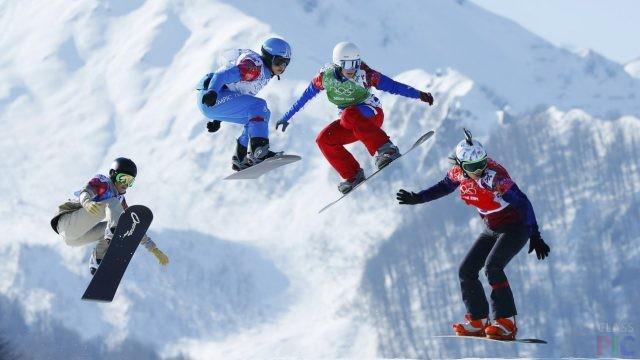 Сноубордисты (27 фото)