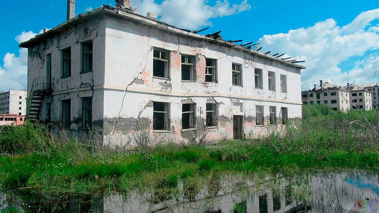 Заброшенные города (34 фото)