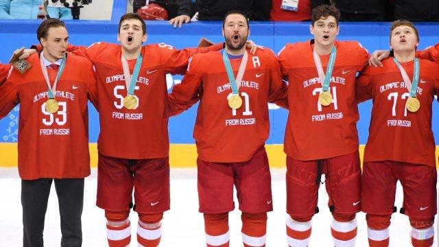 Сборная России по хоккею (37 фото)