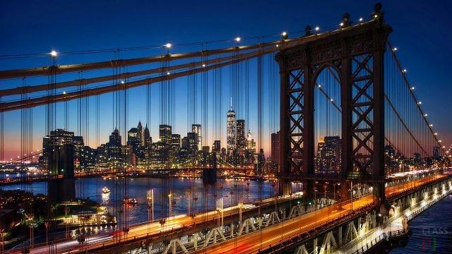 Бруклинский мост (32 фото)